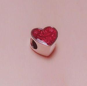 Pandora Latin love heart charm